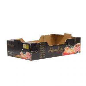 Caja Cartón Troquelada Granada 450X300X110