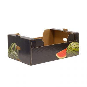 Caja Cartón Troquelada Sandía 600x400x230