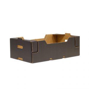 Caja Cartón Troquelada Lechuga 600X400X140