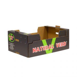 Caja Cartón Troquelada Melón 600X400X230
