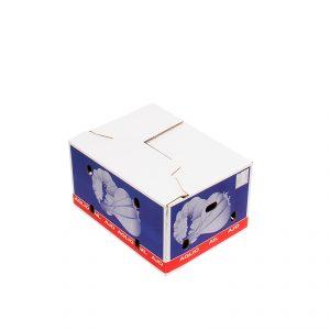 Caja Cartón Ajos Cerrada