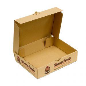 Caja Cartón Troquelada 400X400X100