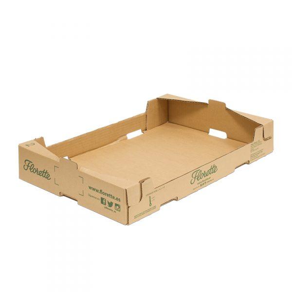 Caja Cartón Troquelada 600X400X95