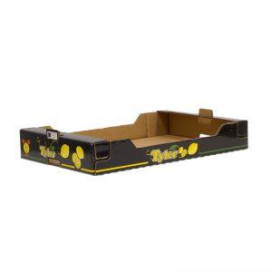Caja Cartón Troquelada Limón 600X400X180