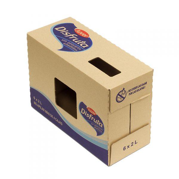 Caja Cartón Troquelada 359X154X256