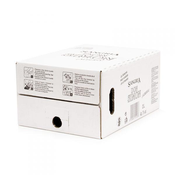 Caja Cartón Troquelada 290X190X400