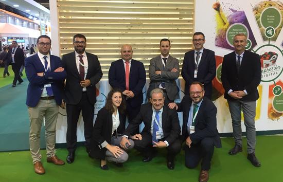 Equipo Vegabaja en Fruit Attraction 2018