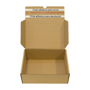 Estuche automontable de doble envío_ embalaje ecommerce
