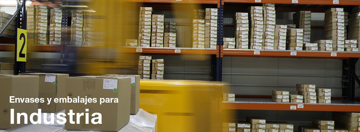 Envases y embalajes para industria