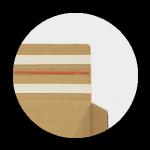 Sistema devoluciones en un negocio ecommerce_Estuche automontable con cinta adhesiva