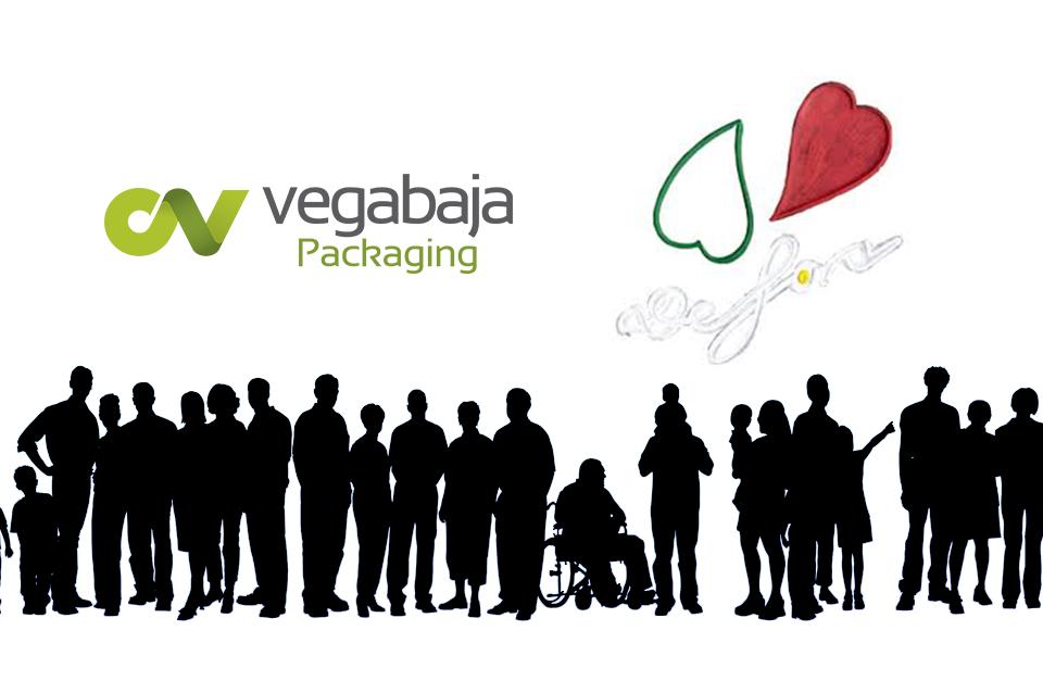 Vegabaja Packaging colabora con Fundación Defora para la inserción laboral de personas con discapacidad