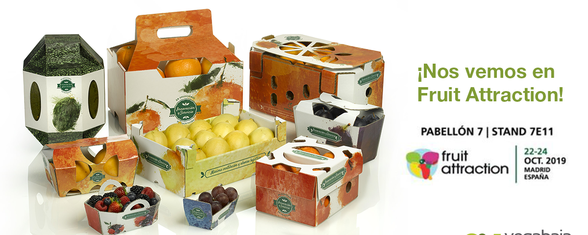 Vegabaja Packaging en Fruit Attraction 2019