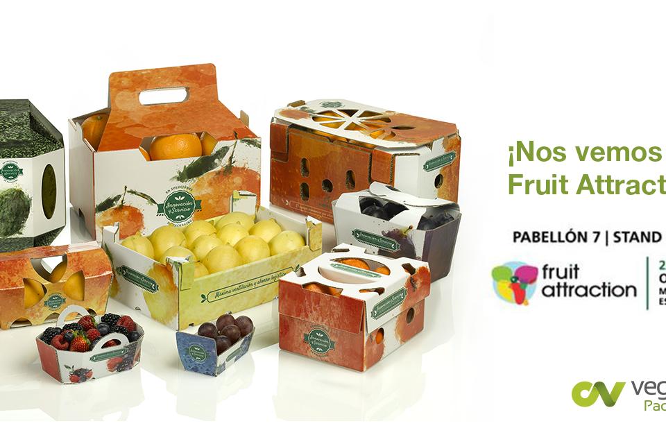 Vegabaja Packaging en Fruit Attraction 2019