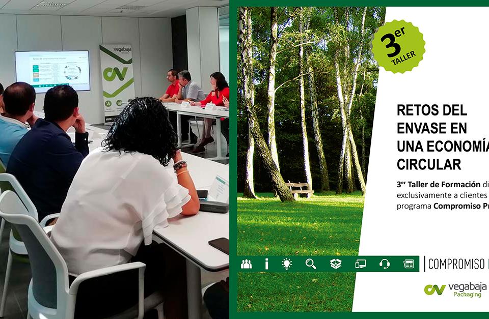 Vegabaja celebra un taller de economía circular para sus clientes