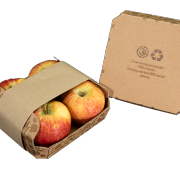 Barqueta para fajado para 4 piezas, Vegabaja Packaging