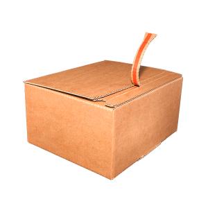Caja fondo automático reforzado doble envío Vegabaja Packaging cerrada