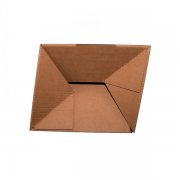 Caja fondo automático reforzado doble envío Vegabaja Packaging (detalle fondo)